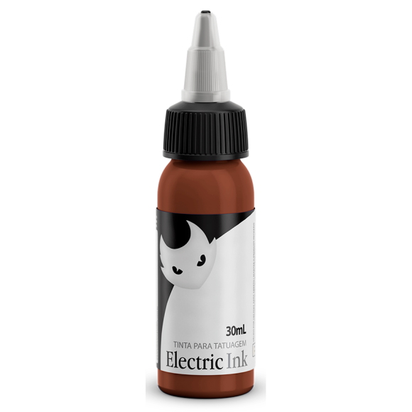 Tinta Marrom Escuro 30ml Electric Ink